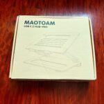 Hub内蔵PCスタンド「Maotoam Pro」着弾…しかし